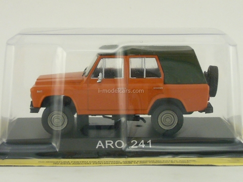 ARO 241 orange 1:43 DeAgostini Masini de legenda #46