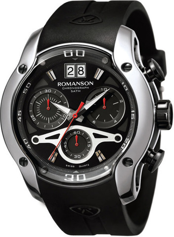 Купить Наручные часы Romanson AL1216HMBBK по доступной цене