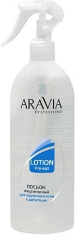 Aravia Мицеллярный лосьон - Для подготовки кожи к депиляции