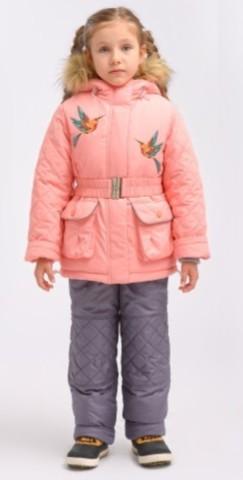 DAY Комплект для мальчика зимний S3239 фиолетовый