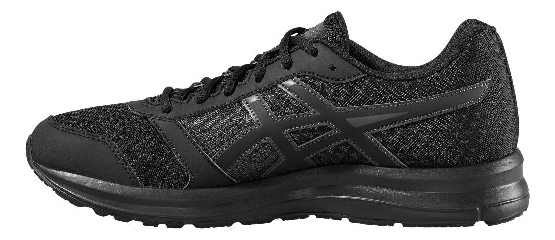 Мужские беговые кроссовки Asics Patriot 8 T619N 9990 черные - фото, описание, технологии