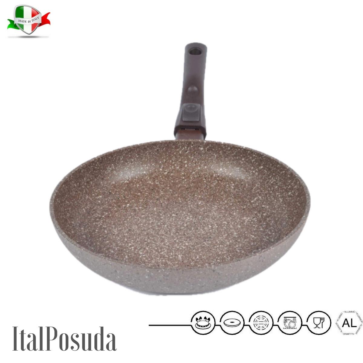 Сковорода со съёмной ручкой TIMA Art Granit, 22 см