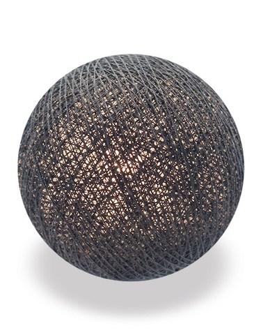 Хлопковый шарик антрацит