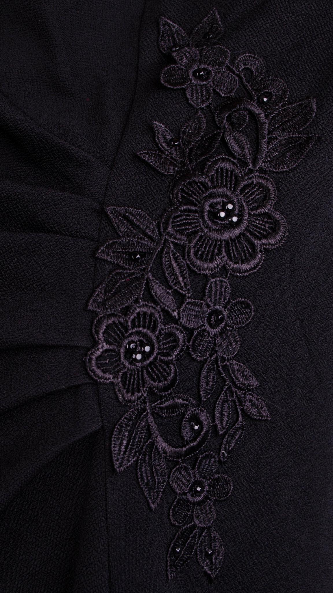 Тейлор. Вишукана жіноча сукня великих розмірів. Чорний. - купить по ... df252c26d67cf