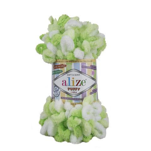 Купить Пряжа Alize Puffy Color Код цвета 5937 | Интернет-магазин пряжи «Пряха»