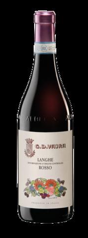 Вино Ланге Россо Вайра защ. наим. крас. сух. 0,75л  13,5% Италия