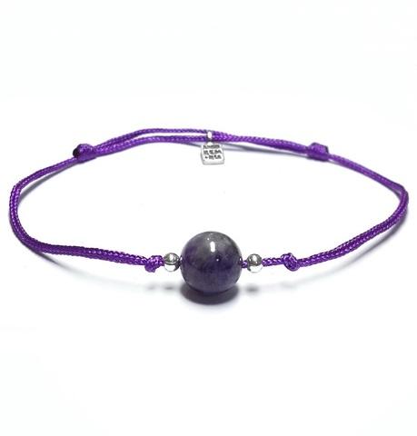 7 chakra bracelet, crown chakra
