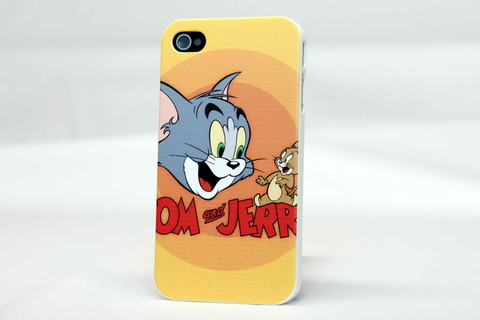 Чехол Tom and Jerry для iPhone 4, 4s
