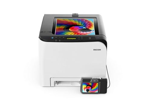 Цветной принтер Ricoh SP C261DNw (408236)