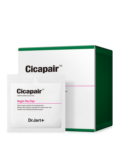 DR JART + CICAPAIR NIGHT RE-PAIR Cicapair Восстанавливающая ночная крем-маска Антистресс 30*3 мл