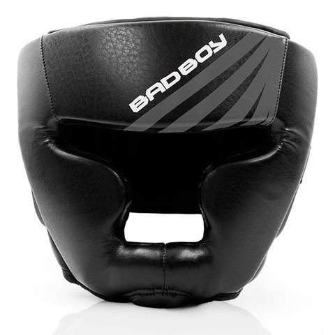 Шлем Bad Boy Training Series Impact Head Guard-Black/Grey