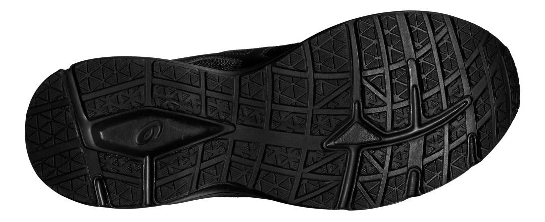 Мужские кроссовки для бега Asics Patriot 8 T619N 9990 черные | Интернет-магазин Five-sport.ru