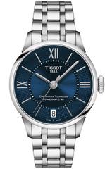 Женские часы Tissot T099.207.11.048.00 Chemin des Tourelles Powermatic 80 Lady