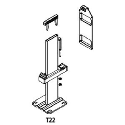 Крепление напольное для радиаторов Kermi  высотой 200 (тип 22)