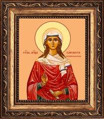 Елисавета Адрианопольская мученица. Икона на холсте.