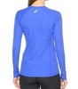 Женская беговая рубашка Asics LS Top (114512 8091) синяя фото