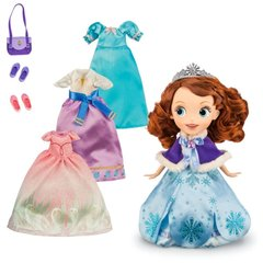 Кукла София Прекрасная с Нарядами (Sofia) - Wardrobe Deluxe Doll Set, Disney