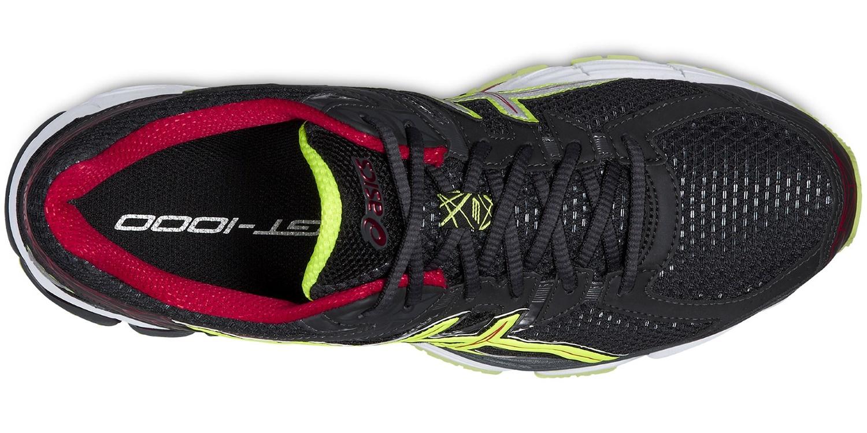 Мужские беговые кроссовки Asics GT-1000 3 (T4K3N 9907) черные фото