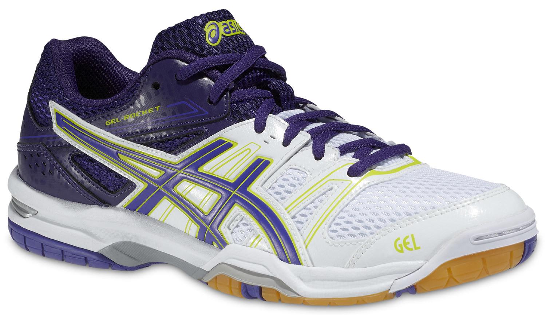 Женские кроссовки для волейбола Asics Gel-Rocket 7 фиолетовые фото