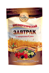 Биокаша Кукурузная №14 с пророщенной гречкой, яблоком и кедровым орехом 220г.(Натурпродукт)