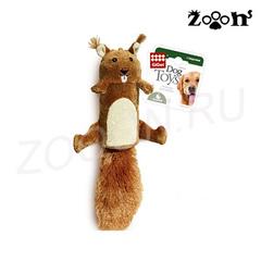 Gigwi игрушка Белка с большой пищалкой 32 см