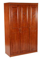"""Шкаф """"7488-3D-WR"""" (Дверцы с цветным рисунком) —  Rose Oak (Темная вишня) (MK-2116-RO)"""