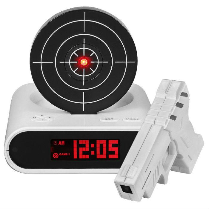 Оригинальные подарки Будильник с мишенью Gun Alarm Clock budilnik-s-mishenyu.jpg