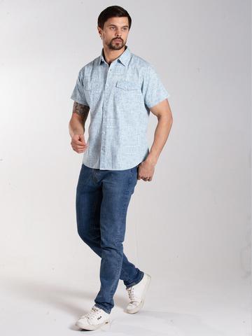 Рубашка к/р муж.  M012-01E-69PS SAHARA