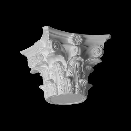 Капитель (колонна) Европласт из полиуретана 4.41.301, интернет магазин Волео