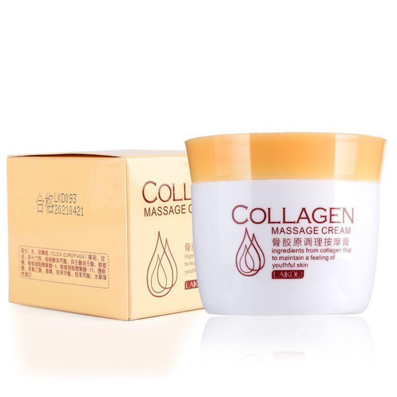 Laikou Коллагеновый очищающий крем Collagen Massage Cream, 80 г