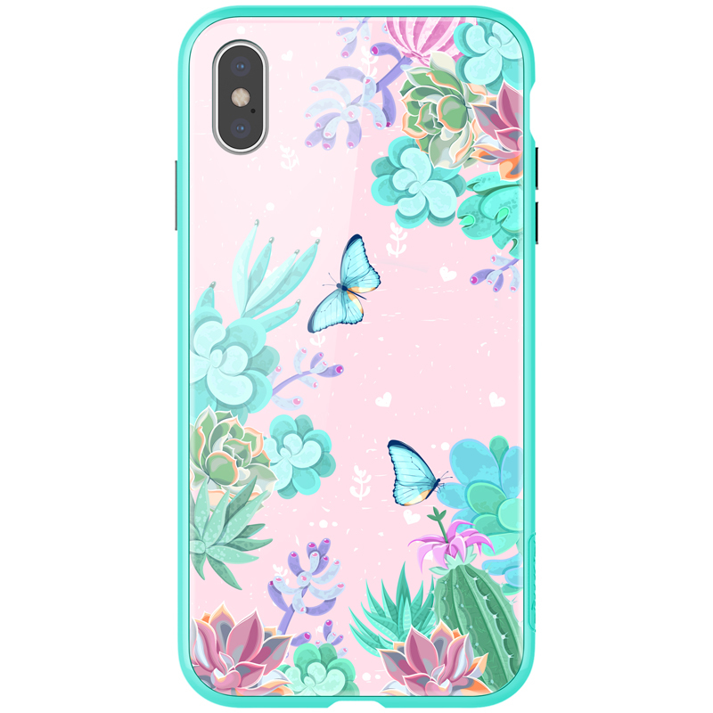 Чехлы Чехол Nillkin Floral для Apple iPhone Xs Max 1.jpg