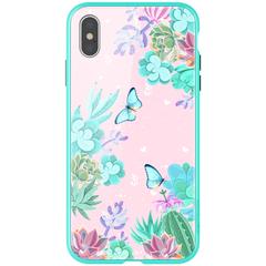 Чехол Nillkin Floral для Apple iPhone Xs Max