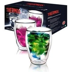 Набор стаканов из двойного стекла Thermos