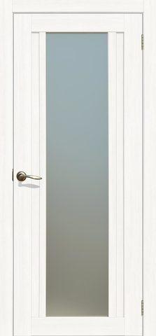 > Экошпон Двероникс 05, стекло матовое, цвет молочный дуб, остекленная