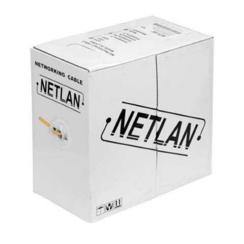 Витая пара NETLAN UTP cat.5e 4pair 4*2*0.47 100%Cu LSZH (внутренний)