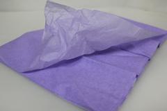 Бумага тишью, фиолетовая 76*50 см (10 листов в уп.)