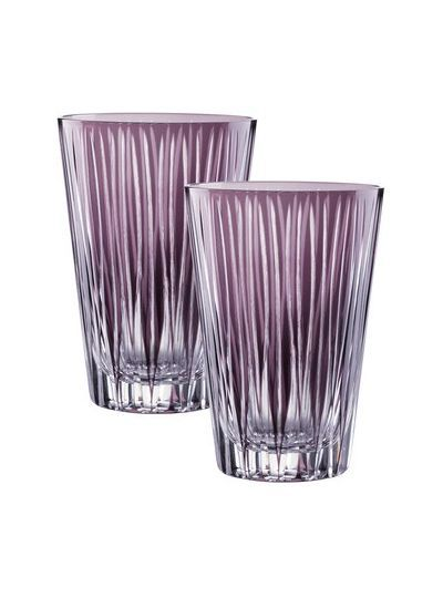 Стаканы Набор стаканов 2шт 450мл Nachtmann Sixties Lines Violet nabor-stakanov-2sht-450ml-nachtmann-sixties-violet-germaniya.jpg