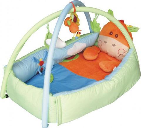 Игровой коврик для новорожденных  Baby Mix Жираф