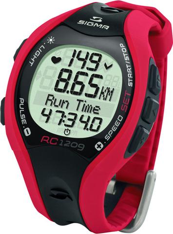 Купить Наручные часы Sigma 25101 с пульсометром RC 12.09 red по доступной цене