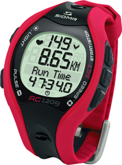 Наручные часы Sigma 25101 с пульсометром RC 12.09 red