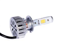 LED лампы головного света C-3 H7, (встроенный радиатор с вентилятором) комп.