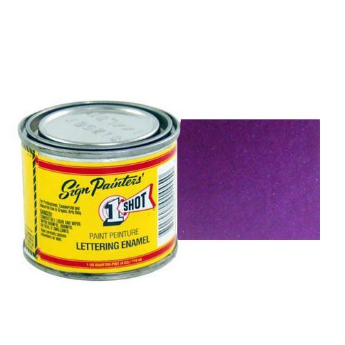 962-P Эмаль для пинстрайпинга 1 Shot Перламутровый Фиолетовый (Purple), 236 мл