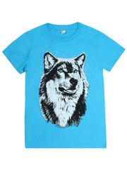 MK003F-31 футболка детская, голубая