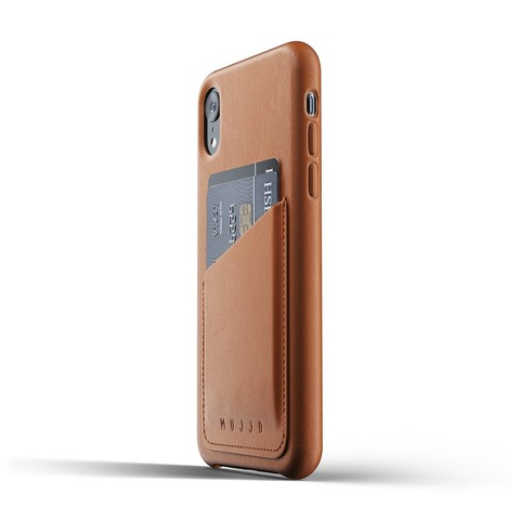 Чехол Mujjo Full Leather Wallet Case iPhone XR