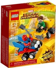 Super Heroes Mighty Micros: Человекпаук против Песочного чел