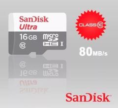 Карта памяти SanDisk Ultra microSDHC UHS-I 16GB Class10 80MB/s