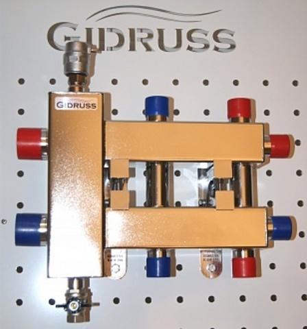 Балансировочный коллектор из нерж. стали BMSS-60-3DU