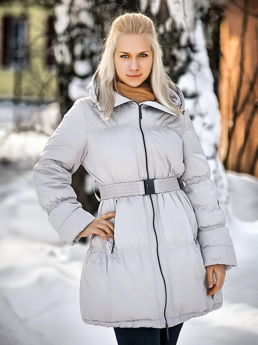 Joutsen пуховик Christa белого цвета - Фото 1
