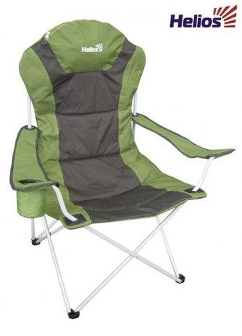 Кресло складное (T-750-99806H) Helios ромб (зел/серый)