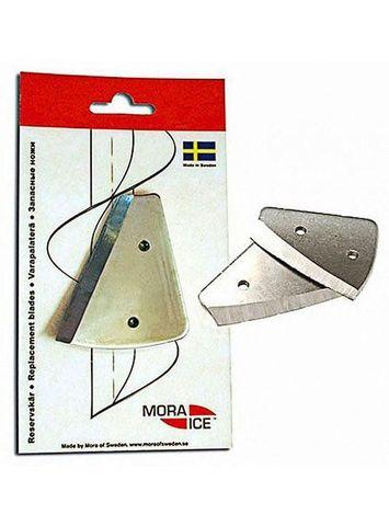 Сменные ножи MORA ICE для ручного ледобура Micro, Arctic, Expert Pro 110 мм (с болтами для крепления)